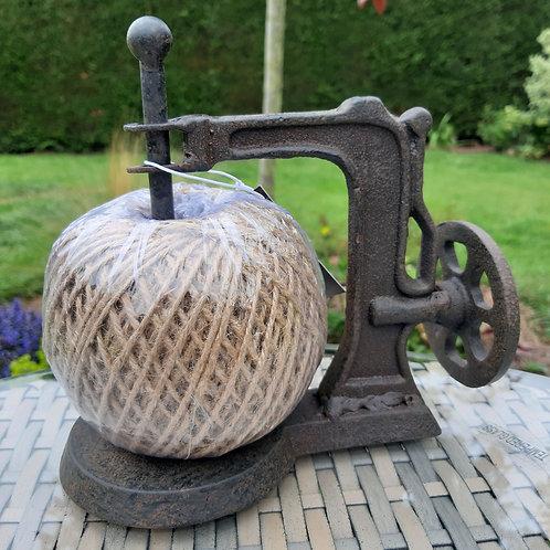 Sewing Machine Design Garden Twine Dispenser. 16cm x 18cm