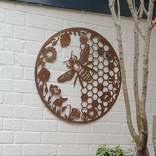 Honeycomb Bee Wall Art