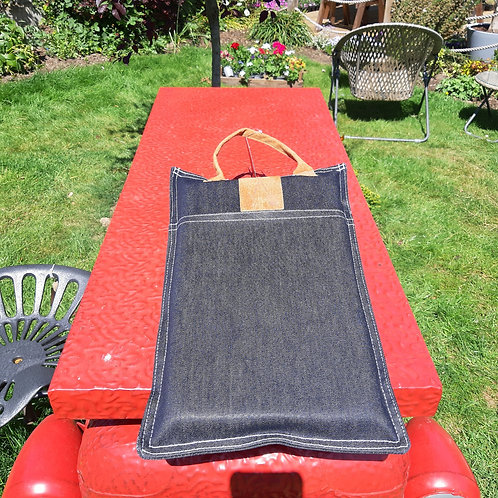 Beautiful Denim Kneeler Pad