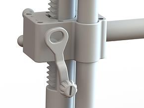 MRI Coil Tower Lifting Mechanism View -