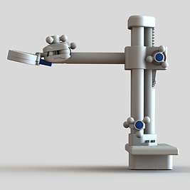 MRI Coil Tower with Coil and Stretcher R