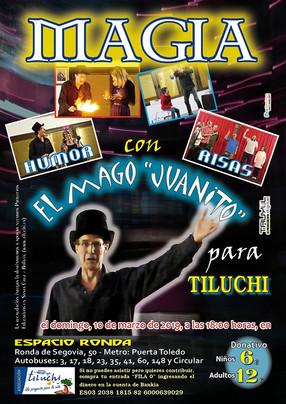 """Nuevo Evento Tiluchero, vuelve """"Juanito"""" El Mago"""