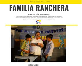 Boletín Mi Rancho Abril 2020