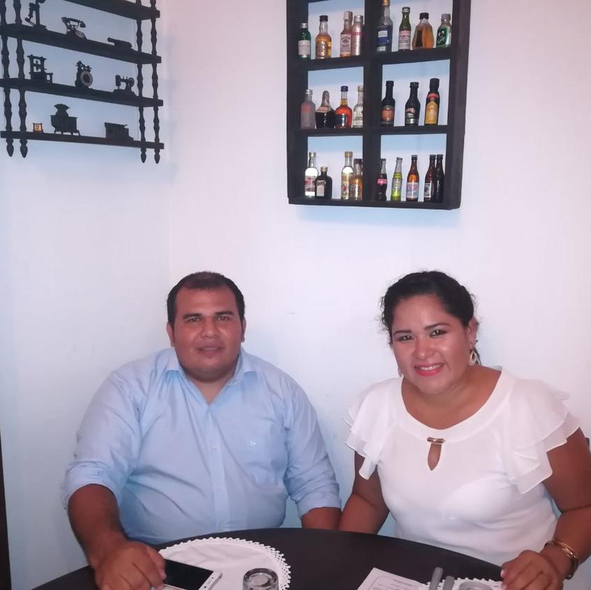 Fabiola y Daniel
