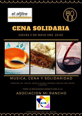 Agradecimiento Cena Solidaria