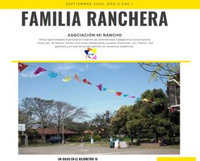 Boletin Mi Rancho Septiembre 2020