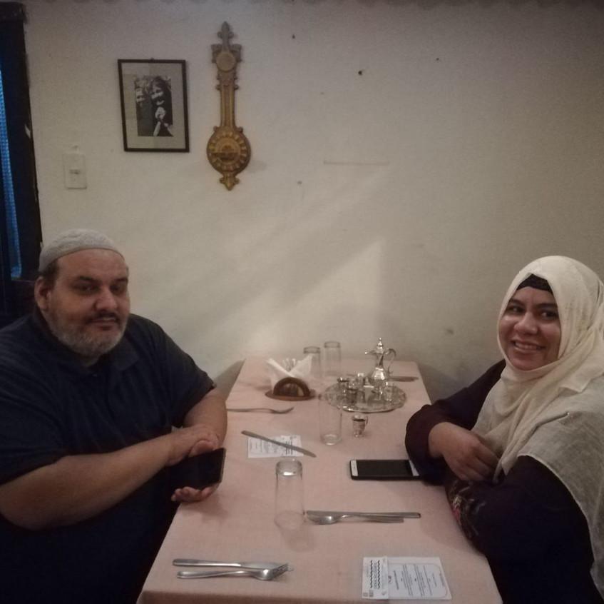 Isa Amer y Maria Limpias