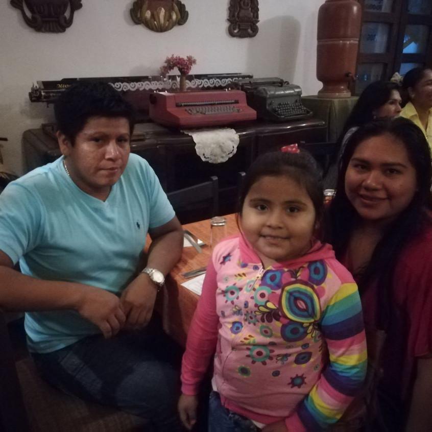 Kimberly y familia