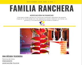 Boletín Mi Rancho Nº 6