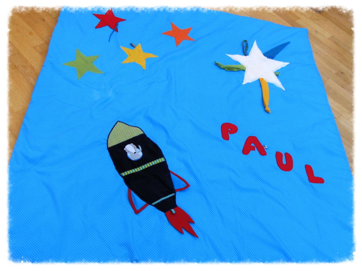 Krabbeldecke für Paul