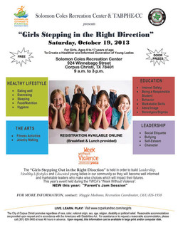 Girls Stepping Up Event