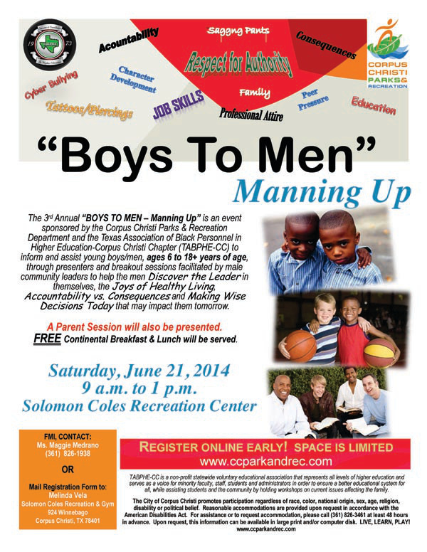Boys to Men Event