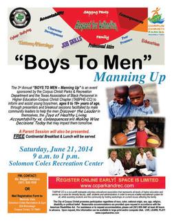 Boys to Men Event