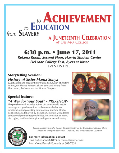 juneteenth flyer 2011