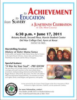juneteenth flyer 2011