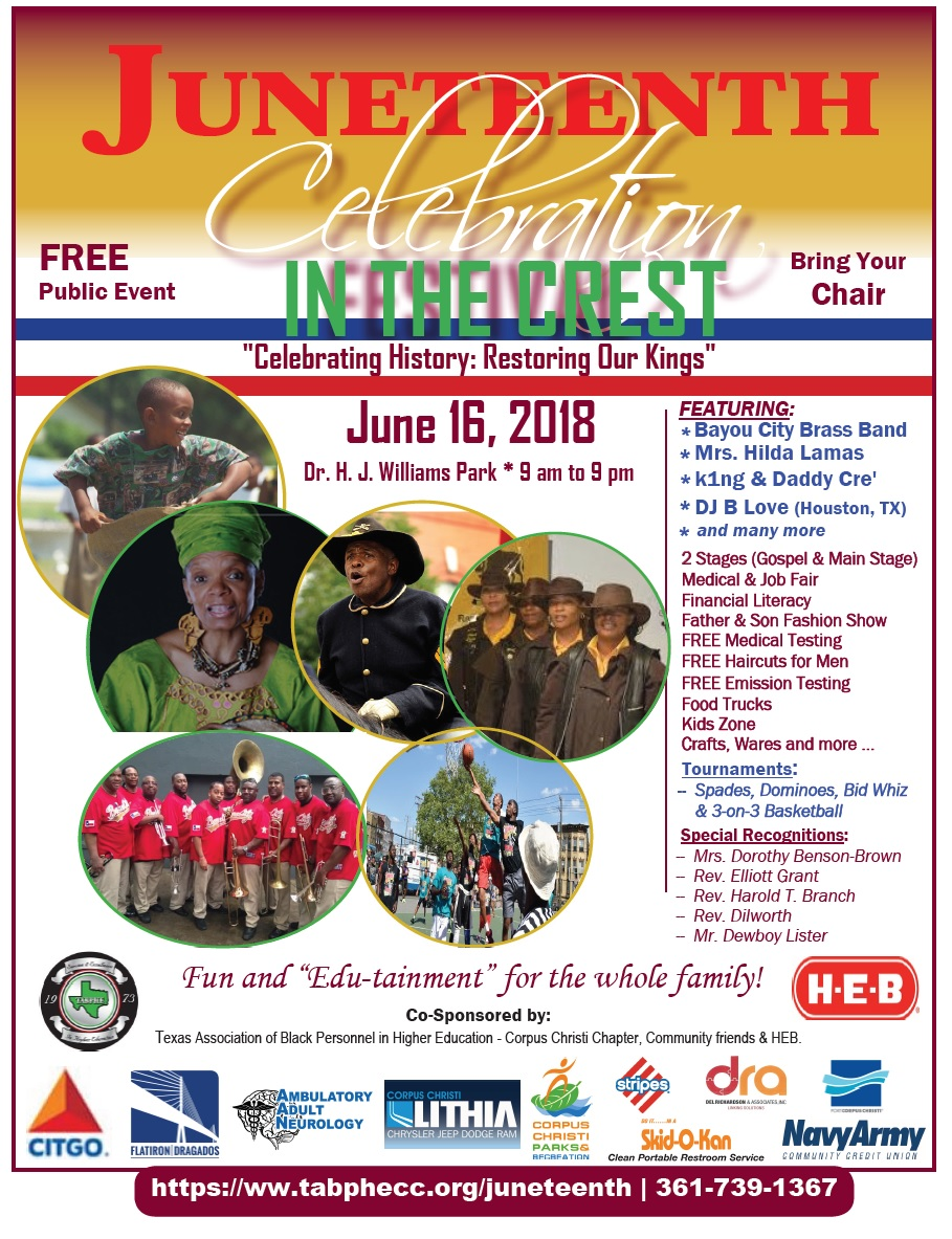 Juneteenth in the Crest Flyer