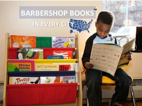 Barbershop Books kicks off in Corpus Christi