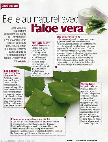 Aloe vera Forever Doctissimo