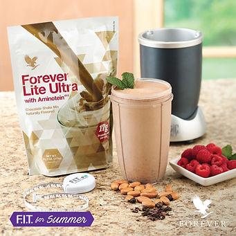 Forever ultra lite chocolat, protéïnes, diététique, détox, vitamines