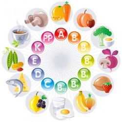 Vitamines A, E et C