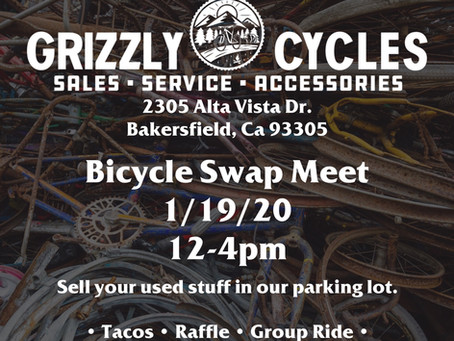 Grizzly Cycles Swap meet!