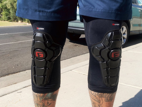 G-Form elbow and Knee pads in-stock!