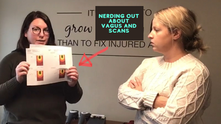 Wednesday Wellness: Nerding out about Vagus and Scans