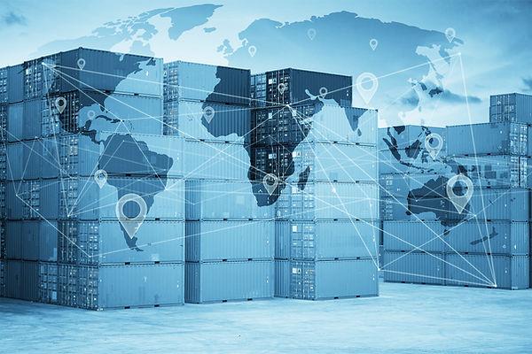 Map global logistics partnership connect