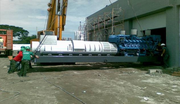 40 tons Genset