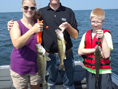 The August bite continues to be very good. we are still mostly trolling with some bobber fishing mix