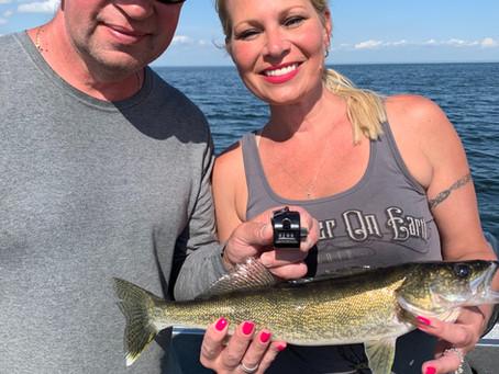 World class fishing this week!