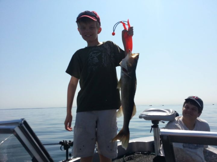 Fishing on Mille Lacs this week has been really good for walleye and a few big northern mixed in too
