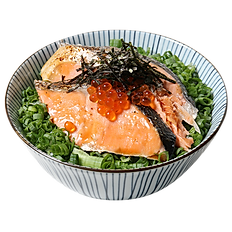 元祖炙燒鮭魚丼