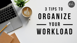 Indie Artists: 3 Tips To Help Organize Your Workload