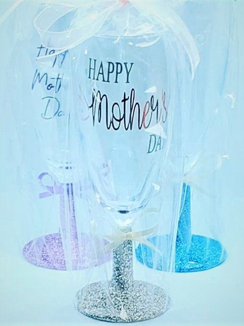 Mothers Day Short stem Champagne Glass