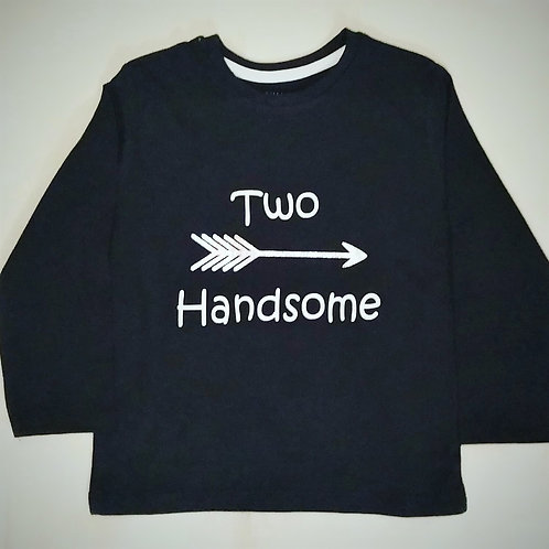 Children's 'Two Handsome' Long sleeved top