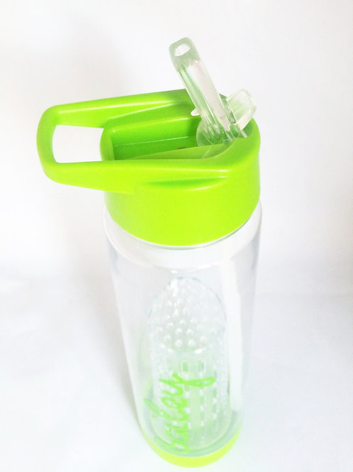 Personalised Tritan 740ml Water Bottle Green
