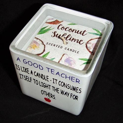 Teacher candle