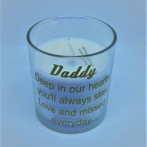 Scented Memorial Candle