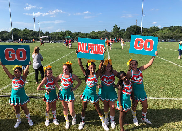 """Youth Rectangle Cheer Signs 18"""" x 15"""""""