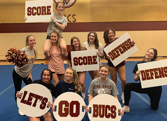 """Rectangle Cheer Signs 22"""" x 17"""""""