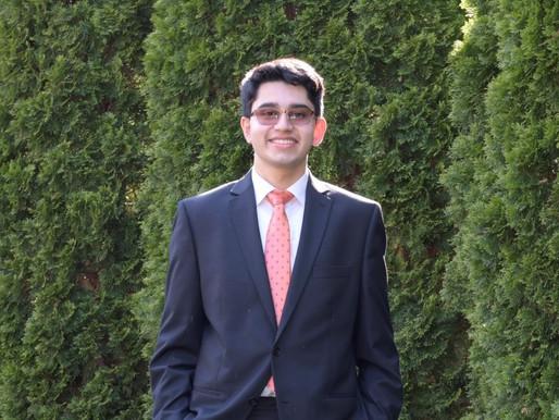 Senior Spotlight: Sukrut Oak