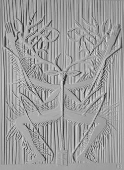 Paper cut, 35x27