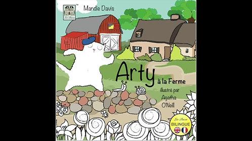 Arty on the farm - Arty à la ferme (MP3 audiobooks)