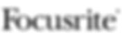 Focusrite Logo Narrow