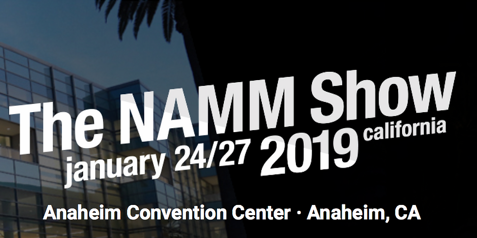 Sheraton Stage @ NAMM 2019!
