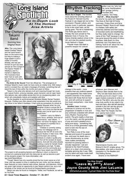 Long Island Spotlight, Good Times Magazine