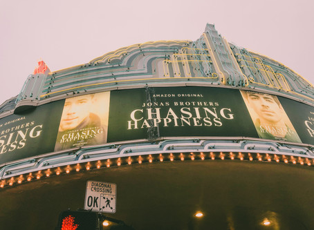 Jolene goes to the Chasing Happiness Premiere