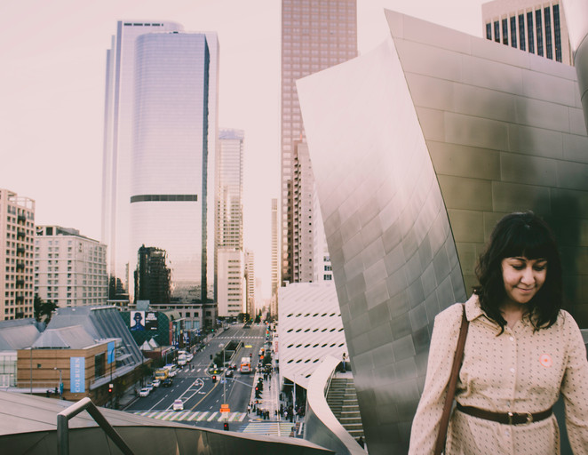 Jolene goes to the Walt Disney Concert Hall