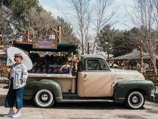 Jolene goes to Knott's Taste of Boysenberry Festival